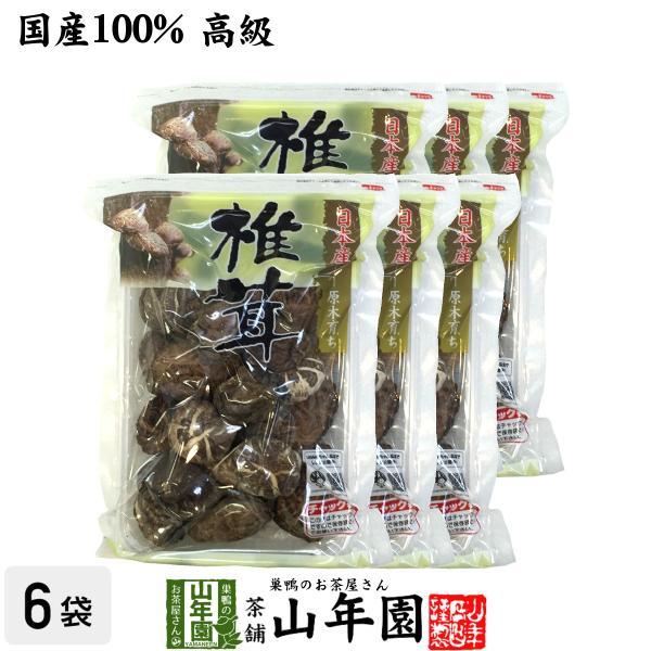 干ししいたけ どんこ 100g×6袋セット 高級 国産 鍋 なべ 野菜 送料無料