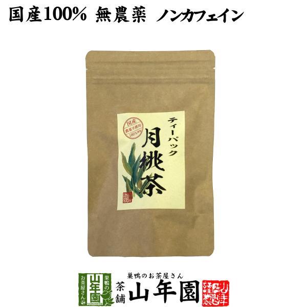 健康茶 国産100% 月桃茶 2g×20パック ティーパック ノンカフェイン 沖縄県産 無農薬 月桃水 送料無料