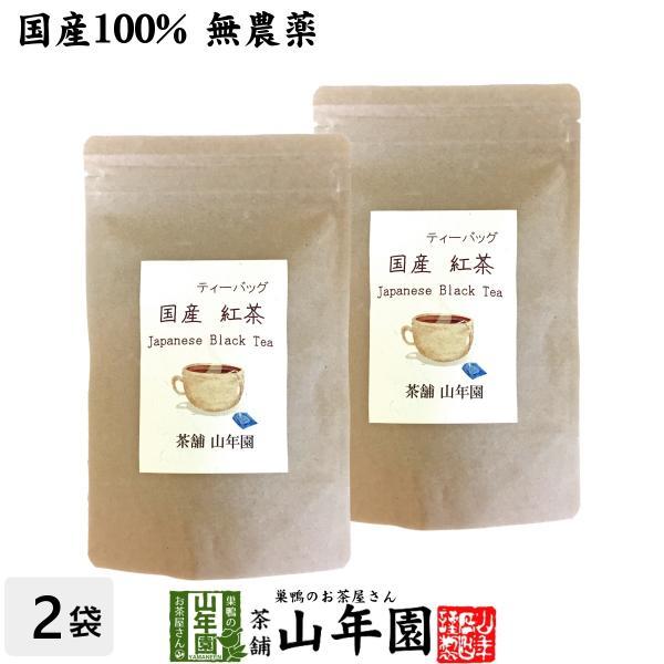 お茶 日本茶 紅茶 国産100% 巣鴨の屋さんの紅茶 2g×15パック×2袋セット ティーパック ティーバッグ 静岡県産 送料無料|yamaneen