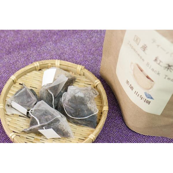 お茶 日本茶 紅茶 国産100% 巣鴨の屋さんの紅茶 2g×15パック×2袋セット ティーパック ティーバッグ 静岡県産 送料無料|yamaneen|03