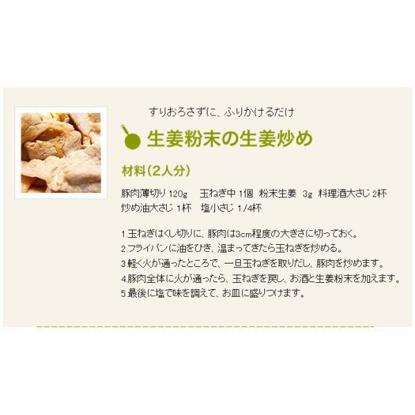 国産100% 無添加 蒸し生姜 粉末 45g 送料無料|yamaneen|06