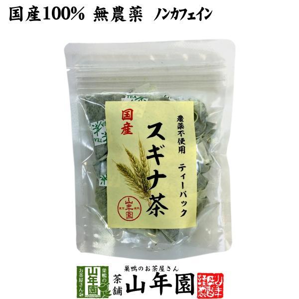 健康茶 国産100% スギナ茶 ティーパック 1.5g×20パック 無農薬 ノンカフェイン 宮崎県産 送料無料