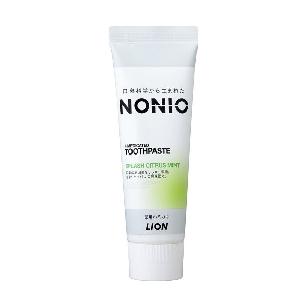 NONIO(ノニオ) ハミガキ スプラッシュシトラスミント 130g|yamanisi