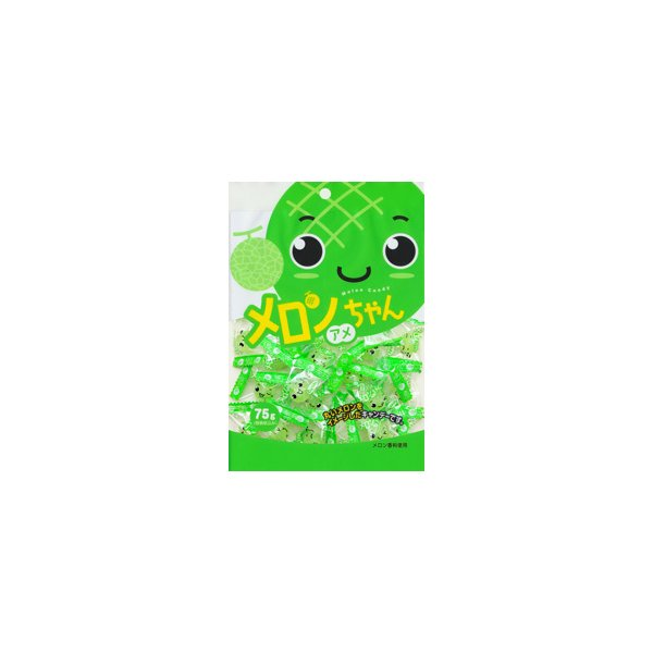 川口製菓 75gメロンちゃんアメ 20袋