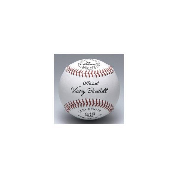 硬式ボール/高校試合球/ミズノ/ビクトリー/1bjbh10100/高校野球/ボール/1個/バラ売り