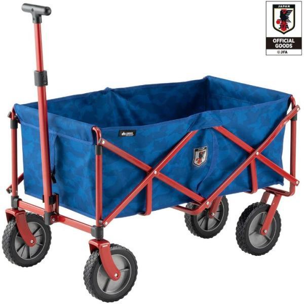 LOGOS ロゴス ラゲージキャリー サッカー日本代表ver. 85000010 JFA キャリーカート ワゴン 折り畳み キャンプ アウトドア