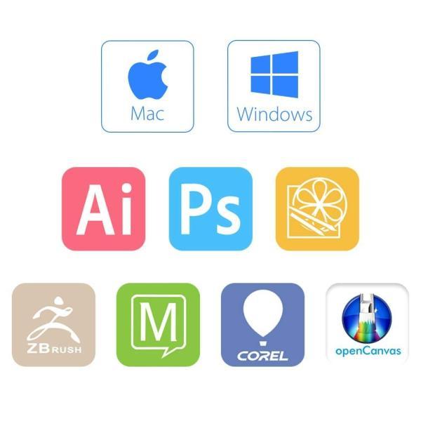 XP-Pen 92%色域液タブ 液晶ペンタブレット 16インチ FHDモニター 8個エクスプレスキー 8192レベル筆圧 Windows/M|yamatomatoya|08