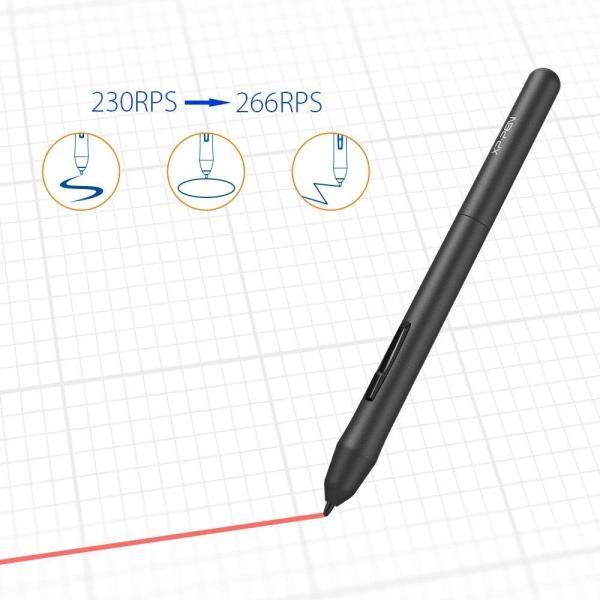 XP-Pen ペンタブレット ペンタブ 4 * 3インチ 2mm厚さ 8192レベル筆圧 イラスト入門用 OSUゲーム用 黒 StarG43|yamatomatoya|10