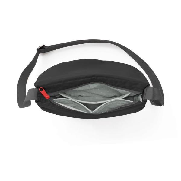 アメリカ発 flip&tumble(フリップアンドタンブル)軽量ショルダーバッグ リトルパース ブラック正規輸入品