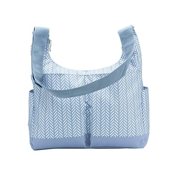 RYCO Hobo Herringbone Diaper Bag, Grey by Ryco