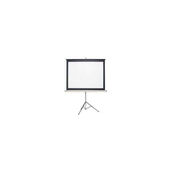キクチ科学研究所 簡易型三脚スクリーン幕面ホワイトマット仕様80型NTSCサイズ KDX-80W