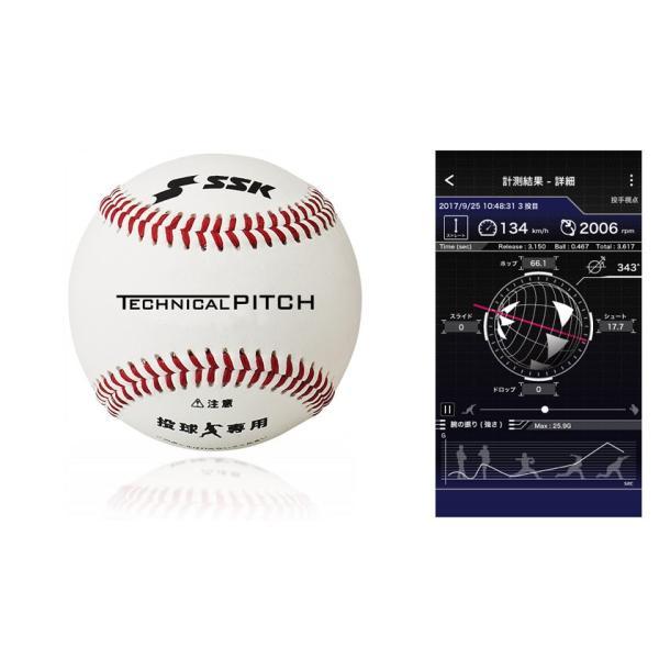 SSK テクニカルピッチ 投球測定トレーニングボール TP001 yamazakisports-ysp