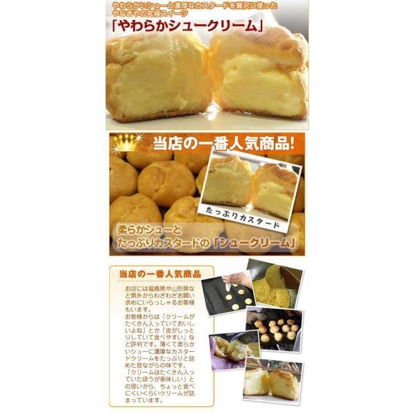 カスタードシュークリーム 10個セット|yanagiyakashi|02