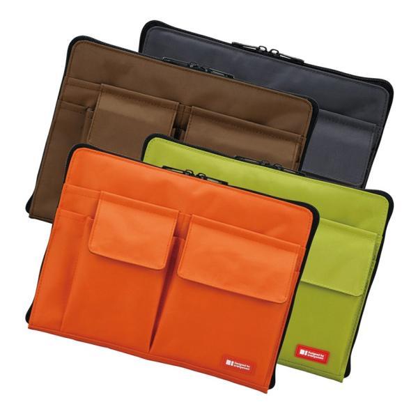 バッグインバッグ バッグ イン バッグ ポーチ 携帯ポーチ トラベルグッズ収納 サイズ コンパクト 軽い 薄型 軽量 携帯ケース パスポート入れ 小物入れ|yandk