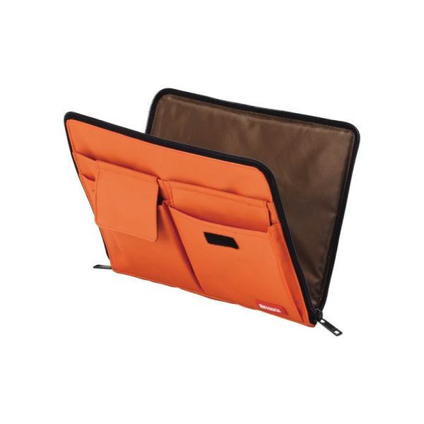 バッグインバッグ バッグ イン バッグ ポーチ 携帯ポーチ トラベルグッズ収納 サイズ コンパクト 軽い 薄型 軽量 携帯ケース パスポート入れ 小物入れ|yandk|03