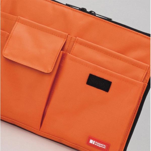 バッグインバッグ バッグ イン バッグ ポーチ 携帯ポーチ トラベルグッズ収納 サイズ コンパクト 軽い 薄型 軽量 携帯ケース パスポート入れ 小物入れ|yandk|04