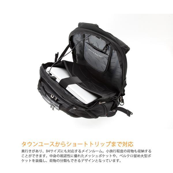 SWISSWIN バックパック リュックサック ブランド ビジネスリュック メンズ 旅行用バック 鞄 サイドポケット 通勤 通学 B4 ポケット 多い 多機能 撥水 ギフト|yandk|04