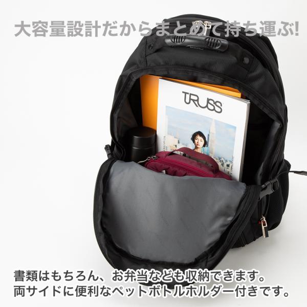 SWISSWIN バックパック リュックサック ブランド ビジネスリュック メンズ 旅行用バック 鞄 サイドポケット 通勤 通学 B4 ポケット 多い 多機能 撥水 ギフト|yandk|06