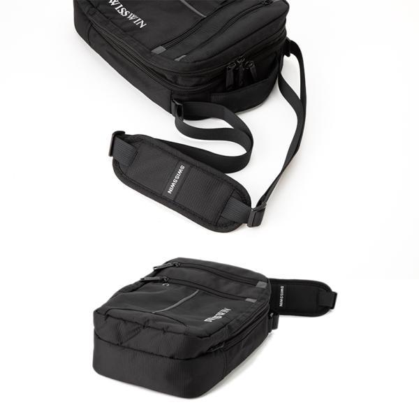 SWISSWIN ショルダーバッグ バックパック ワンショルダーバック メンズ 2way  肩掛け カバン 斜めがけ  通勤 通学 軽量 ツーリング 丈夫 小物入れ 撥水 ギフト|yandk|05