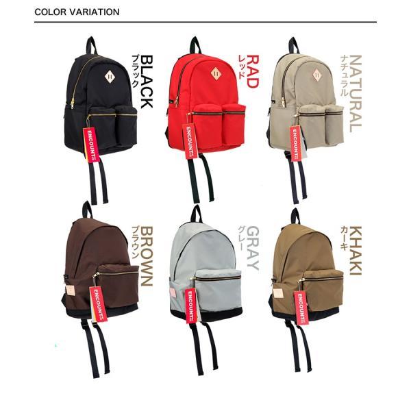 バックパック リュックサック リュック メンズ レディース 鞄 カバン ポケット 多い 通勤 通学 大容量 撥水 出張 登山 ビジネス アウトドア 学生 遠足 旅行 避難|yandk|08