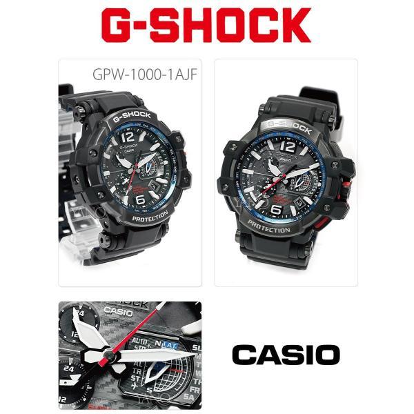クーポンでお得!カシオ Gショック  GPS ハイブリッド 電波 ソーラー GPW-1000-1AJF スカイコックピット  CASIO G-SHOCK|yano1948|02