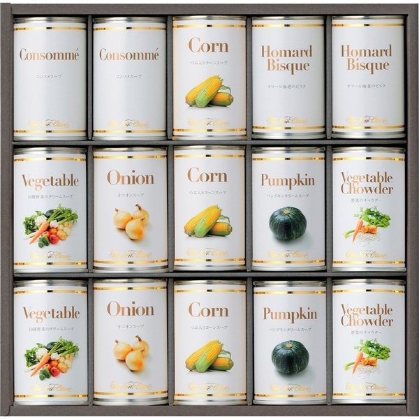 内祝い お返し 出産祝い 結婚祝い お返し ホテルニューオータニ スープ缶詰セット
