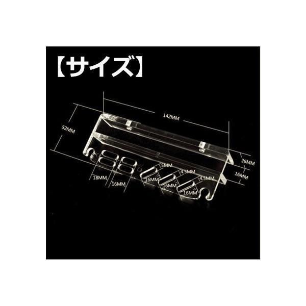 ピンセットホルダー ハサミ ピンセット 収納 メンテナンス ホルダー 水槽用 水草 掃除|yaostore|03