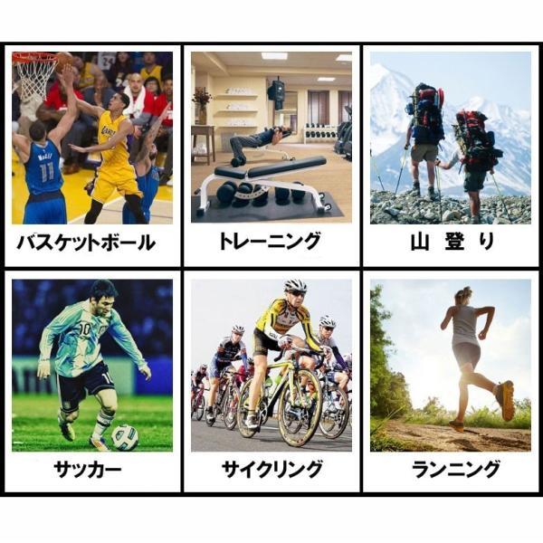 膝サポーター 2枚組 薄手 スポーツ用 医療用 ジョギング 登山 ウォーキング マラソン|yaostore|09
