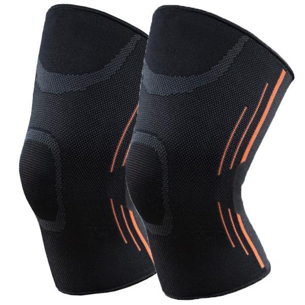 膝サポーター 2枚組 薄手 スポーツ用 医療用 ジョギング 登山 ウォーキング マラソン|yaostore|10