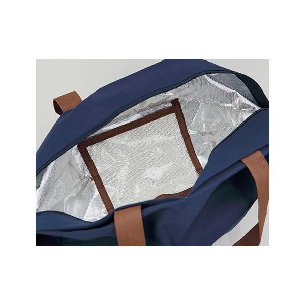 Shupatto シュパット 保冷バッグ Mサイズ<ストライプ>S-445S エコバッグ MARNA マーナ クーラーバッグ 水色 ブルー yasac 13
