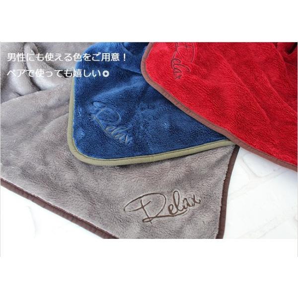 ブランケット おしゃれ ベビー ひざ掛け ふわふわ 毛布 暖かい FUWA POKA +5.9℃ 100×140|yasashii-kurashi|07