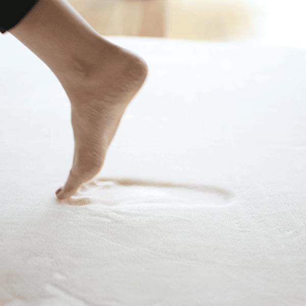 ラグ ラグマット おしゃれ 北欧 厚手 低反発 高反発 2層フランネル 遮音 床暖房対応 低ホルムアルデヒド 190×240|yasashii-kurashi|05