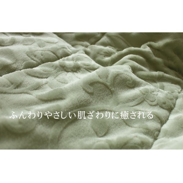 敷パッド マイクロファイバー シングルサイズ(100×205cm) 四隅ゴム付き 洗濯可 オパール加工 マイヤー織 yasashii-kurashi 10