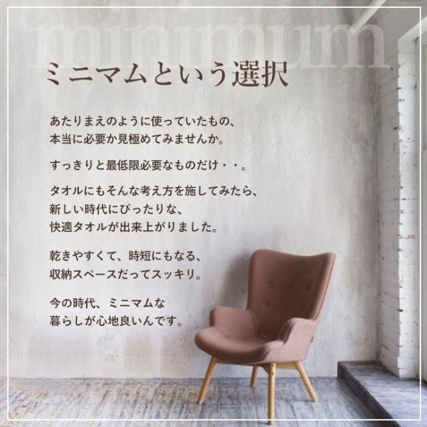 タオル まとめ買い ミニ バスタオル セット 2枚 日本製 綿100% オーガニックコットン 大阪泉州タオル yasashii-kurashi 02