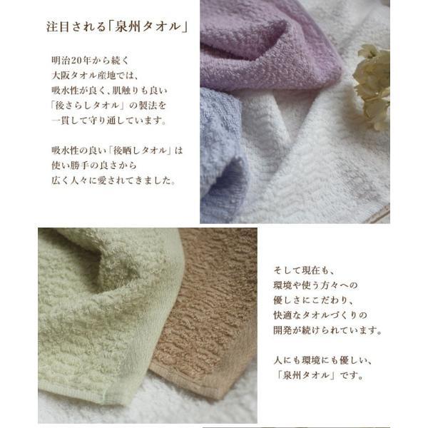 タオル まとめ買い ミニ バスタオル セット 2枚 日本製 綿100% オーガニックコットン 大阪泉州タオル yasashii-kurashi 07