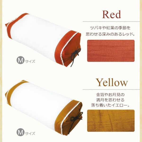 枕 そば殻 昔ながらのそばがら枕 Mサイズ (約52×22cm) 5色展開 日本製 側地綿100% 通気 吸湿 SAIKORO 彩転 サイコロ 和まくら|yasashii-kurashi|08