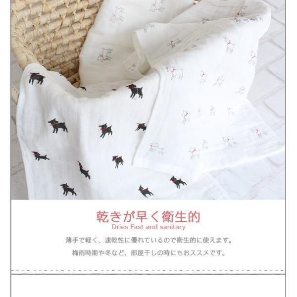 バスタオル ガーゼタオル 赤ちゃん用 ベビー ダブルガーゼ 綿100% 日本製|yasashii-kurashi|04