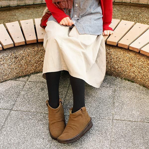 ムートンブーツ フリースボア ショートブーツ ブーティ コンフォートシューズ 防寒 撥水加工済み スエード レディース 婦人靴 日本製 MINIE
