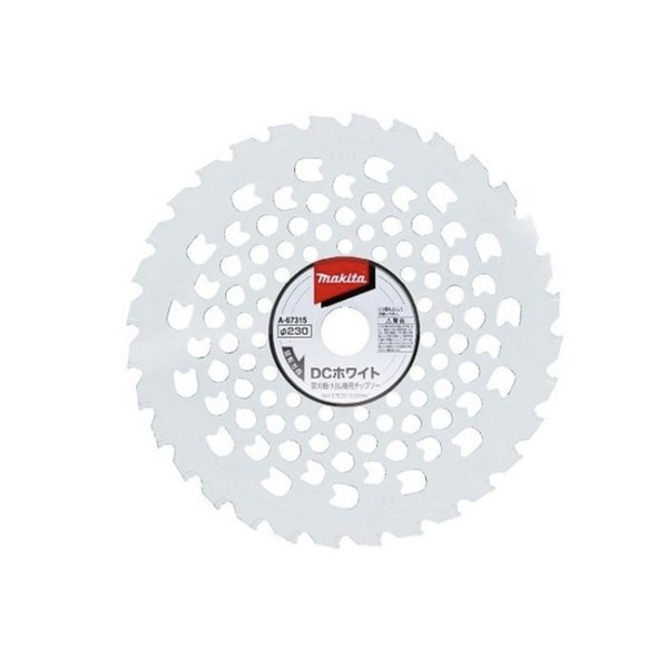 マキタ DCホワイト刈払機チップソー 230mm  32P A-67315