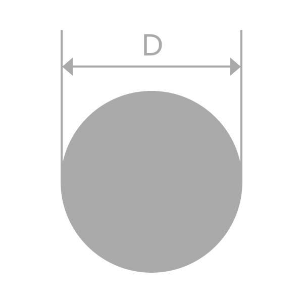アルミ材 丸棒 A2017BE-T4 290mm 長さ460mm|yasui-alumi|02