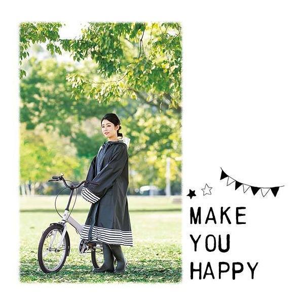 在庫処分SALE★29%OFF レインコート 自転車 レディース レインポンチョ Chou Chou Poche レインウェア レインスーツ 携帯 雨合羽|yasuizemart|11