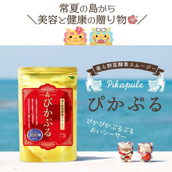 82%OFF 美ら野菜酵素 ぴかぷるスムージー 長寿の国沖縄からお届け 酵素 配合 酵素スムージー ダイエット|yasuizemart|13