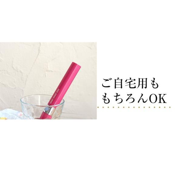 電動歯ブラシ 携帯 音波歯ブラシ ソニックマジック ミニ 2個セット 替えブラシ4本付 軽量|yasuizemart|08