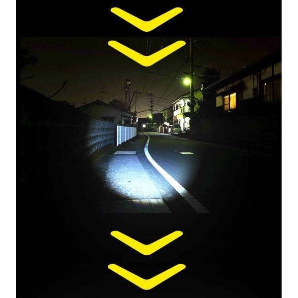 T6 高性能 2個組 LEDハンディライト 懐中電灯 最大400m先まで照射 高性能懐中電灯|yasuizemart|07