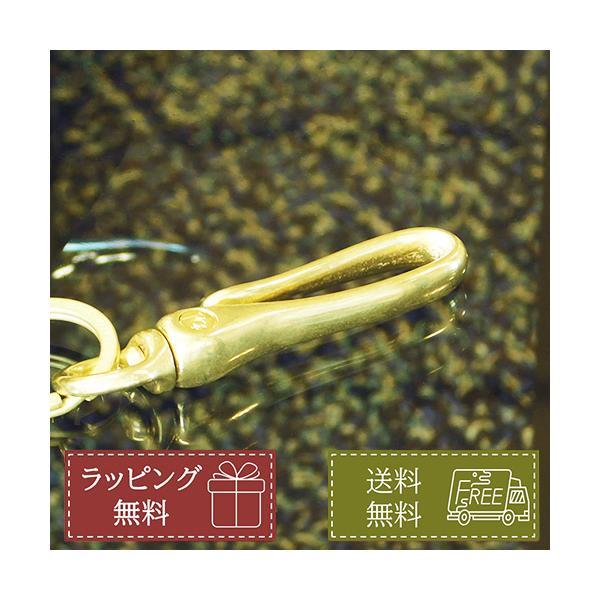 ツリバリ型キーリング スティンガー KC,s キーホルダー 鍵 フック ゴールド 真鍮 簡易ラッピング無料 即日発送 送料無料