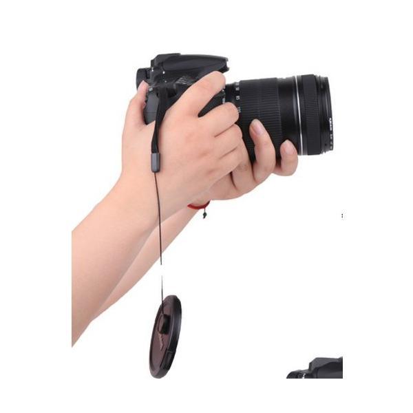 カメラレンズ 落下防止 ストラップ 一眼レフミラーレス