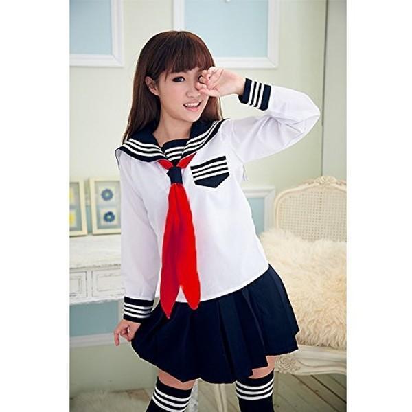 コスプレ 女子高生  セーラー服 制服 中学生 衣装 yasyabou 02