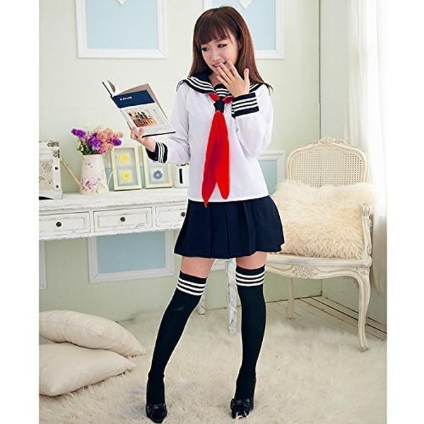コスプレ 女子高生  セーラー服 制服 中学生 衣装 yasyabou 05