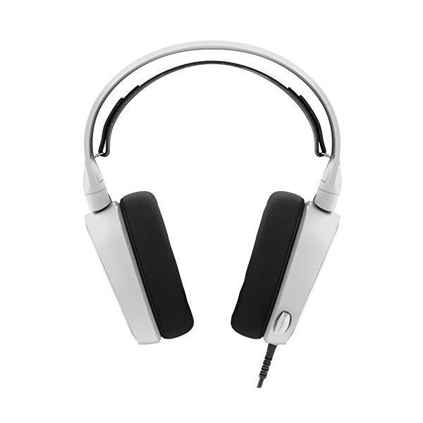【国内正規品】密閉型 ゲーミングヘッドセット SteelSeries Arctis 3 White 61434|yasyabou|02