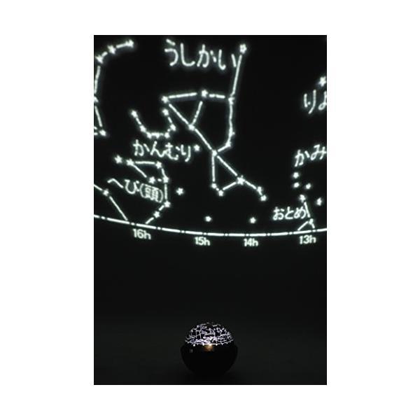 Kenko プラネタリウム スターサテライト-R ブラック 回転式 470992|yasyabou|03
